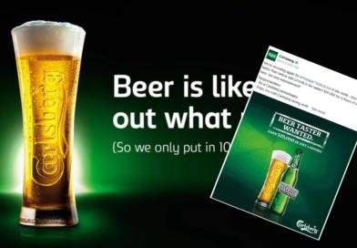 Trenger du penger? Carlsberg betaler 100 000 kr for å drikke øl i fire timer.